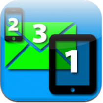 Tablet Text & Mail App Icon